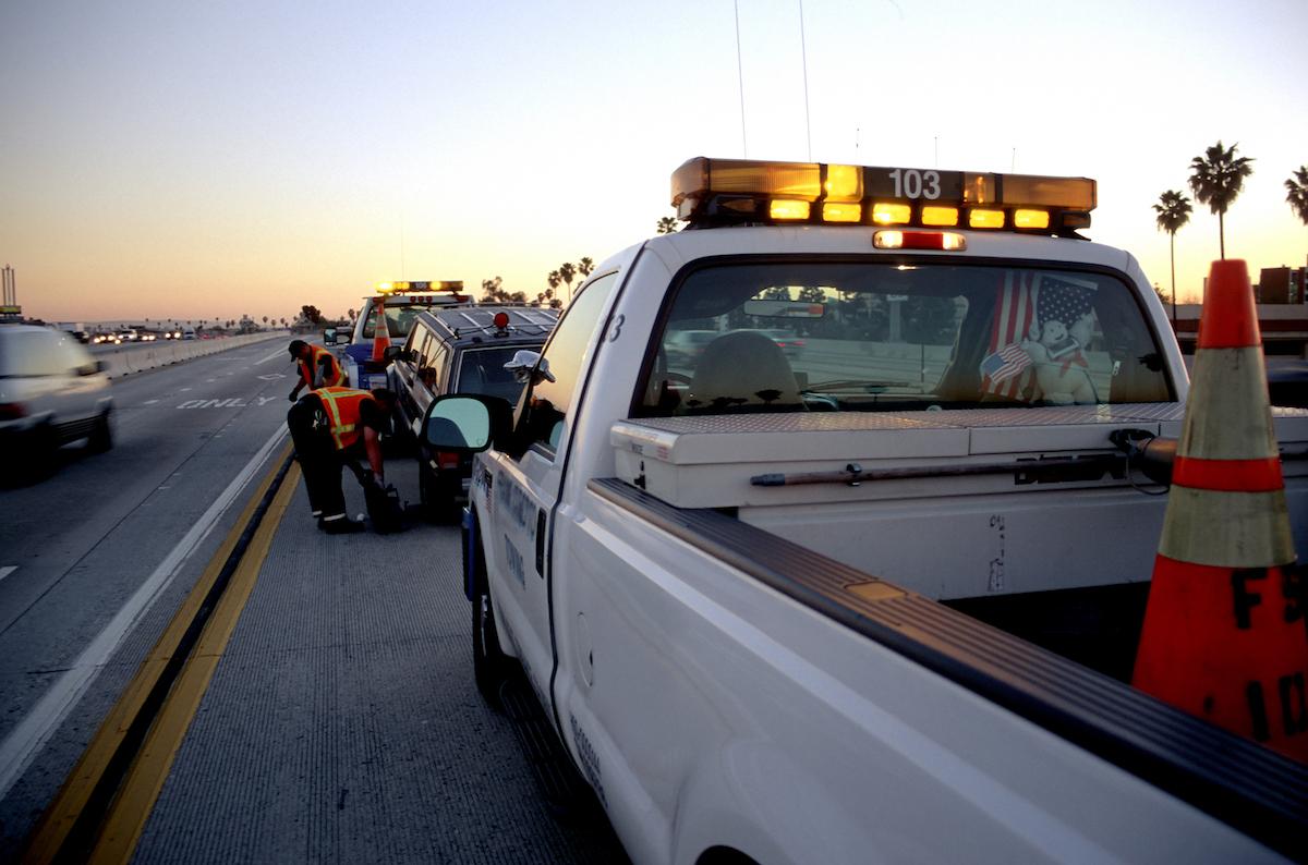 405 freeway accident